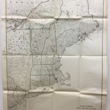 Map of Spruce Budworm Distribution 1945